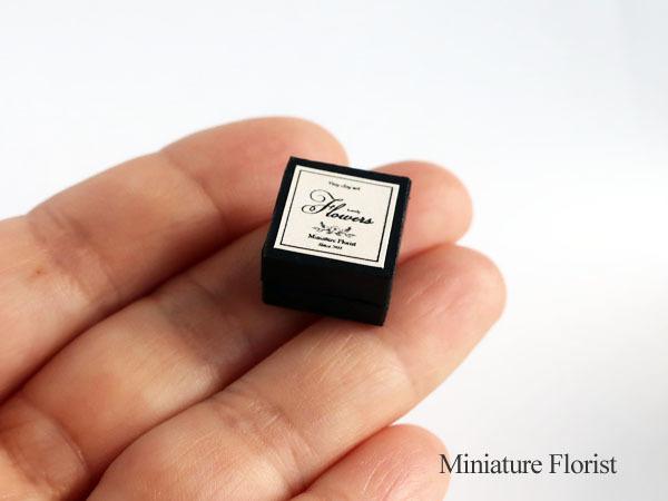 Miniature Florist 1/12 ミニチュア クレイフラワー ドールハウス 粘土の花 バラ ボックスフラワー _画像4