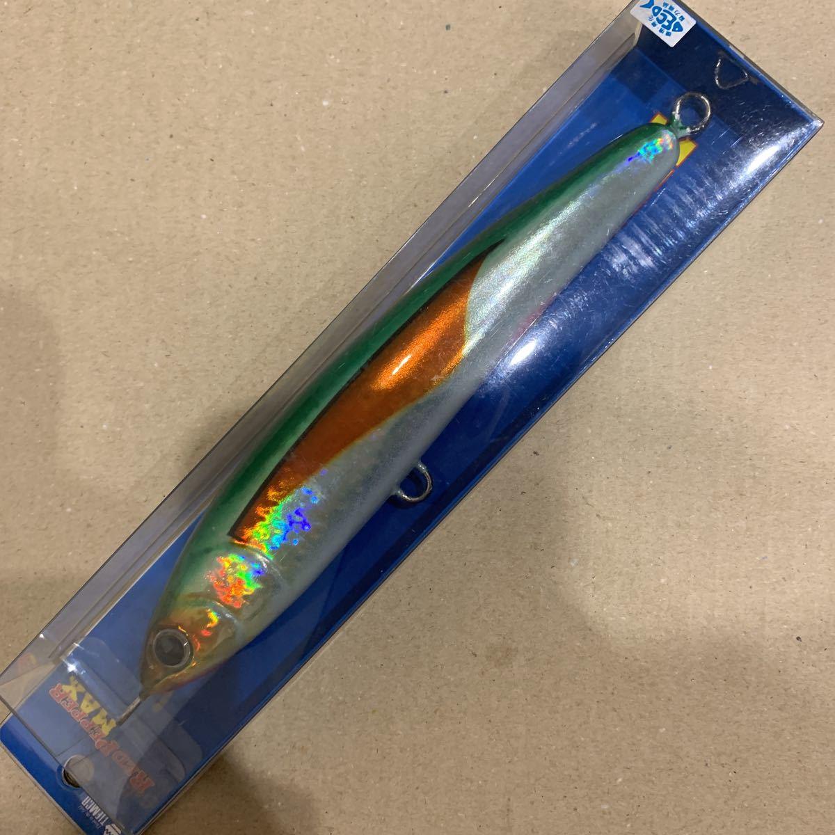 新品未使用 ティムコ ソルティ・レッドペッパー・マックス 180mm 60g 人気色 H8 ソルト ルアー 同梱可_画像1