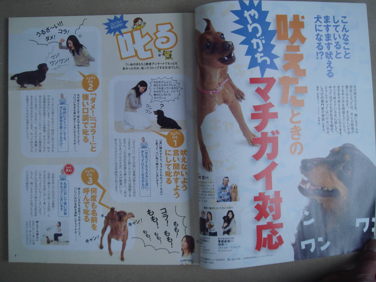 ★ いぬのきもち 2008年 5月号 vol.72 タカ 91-2_画像3