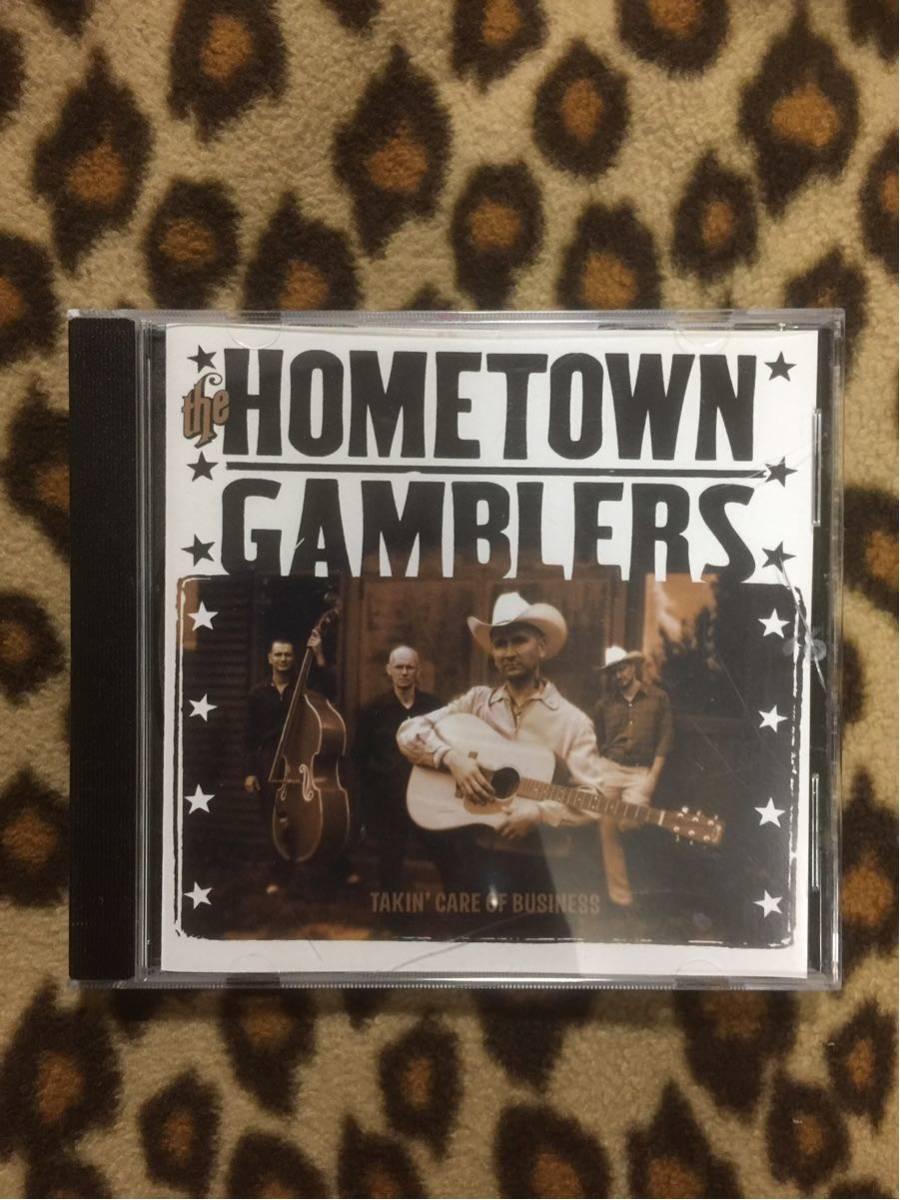 the hometown gamblers CD ホームタウン ギャンブラー テッズ テディボーイ ロカビリー サイコビリー パンク ネオロカ ロックンロール_画像1