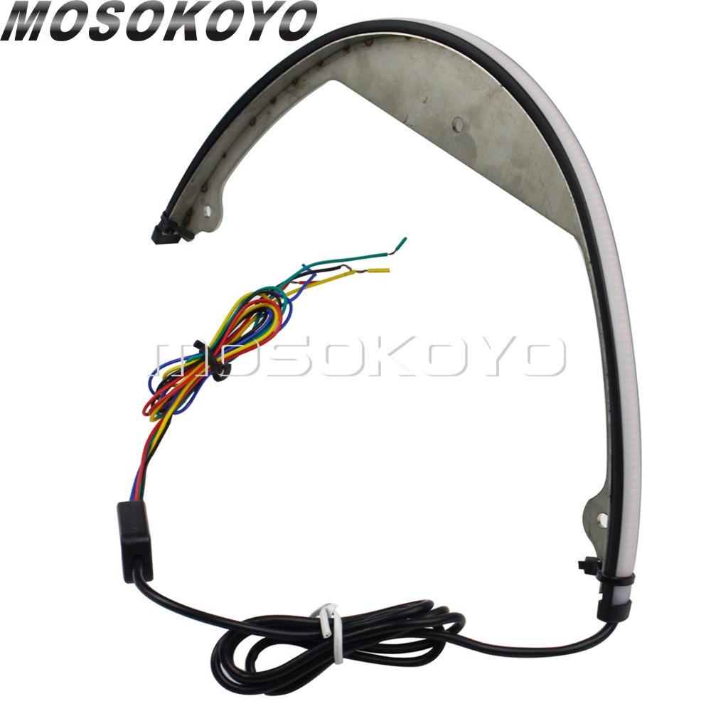 ▲スズキ M109R M90 スイッチバック流れるシーケンシャル LED フェンダーエリミネーターテール信号光 200_画像3