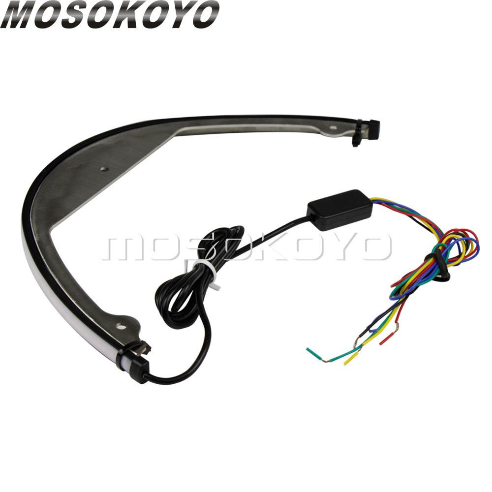 ▲スズキ M109R M90 スイッチバック流れるシーケンシャル LED フェンダーエリミネーターテール信号光 200_画像5