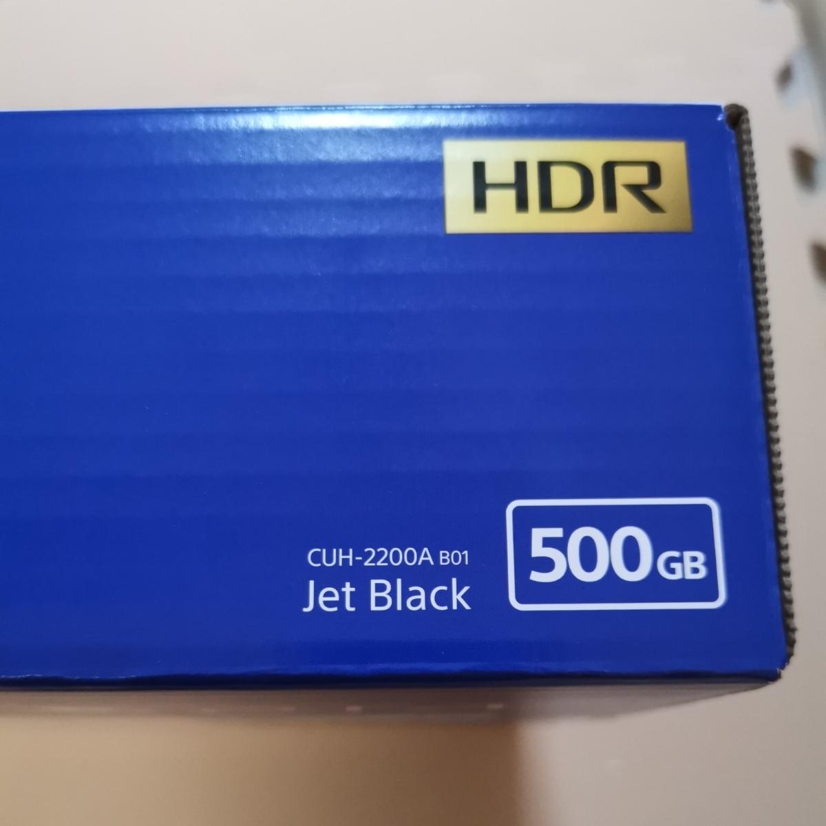 【新品/送料込】PS4 CUH-2200AB01 プレイステーション4 ジェットブラック PlayStation4 Jet Black_画像2