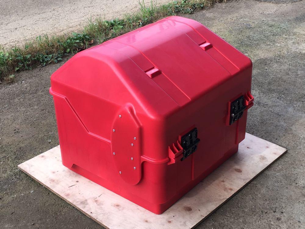 郵政カブ 110MD JA10 JA07 日本郵便 郵便配達 JP 〒 MD90 郵便局 リアボックス 集配用 BOX デカ箱 BIG BOX POST OFFICE レア 現行品 希少_画像2