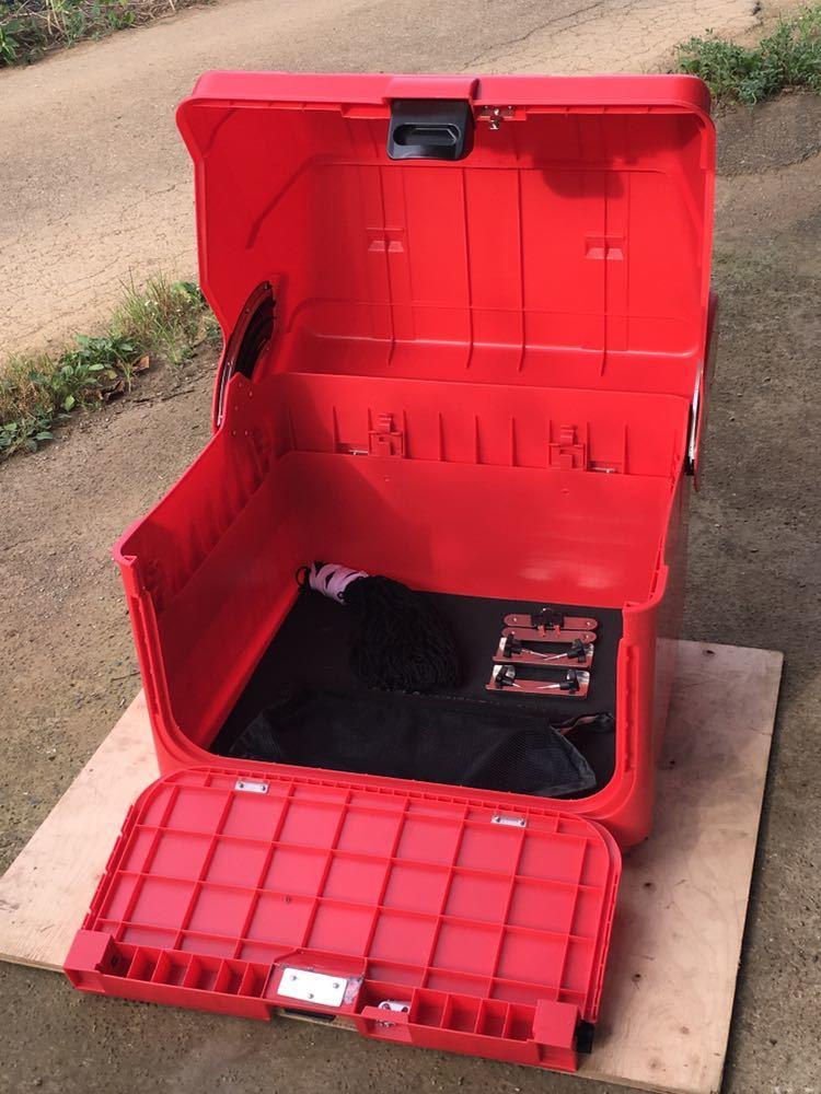郵政カブ 110MD JA10 JA07 日本郵便 郵便配達 JP 〒 MD90 郵便局 リアボックス 集配用 BOX デカ箱 BIG BOX POST OFFICE レア 現行品 希少_画像4