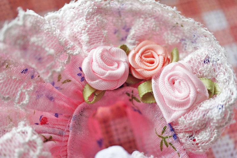 【恋鞠堂】オビツ11サイズ・クラシカルドレス(フローラルピンク)_画像10