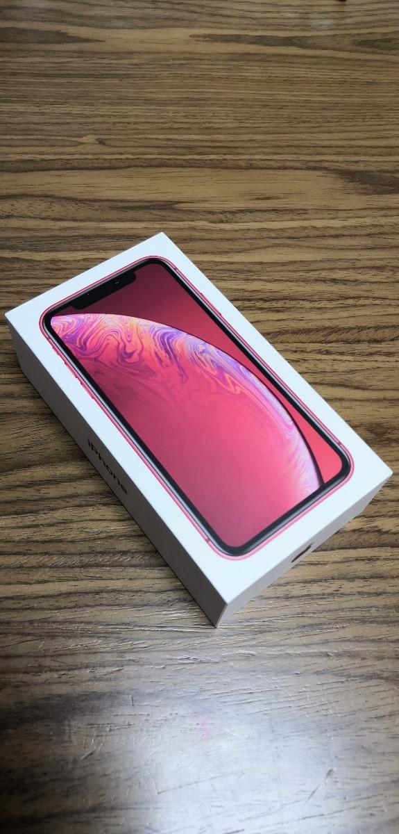 ☆送料無料☆iPhone XR 64GB レッド(RED)赤 本体 SIMロック解除済 1円~売切 新品未使用 判定○