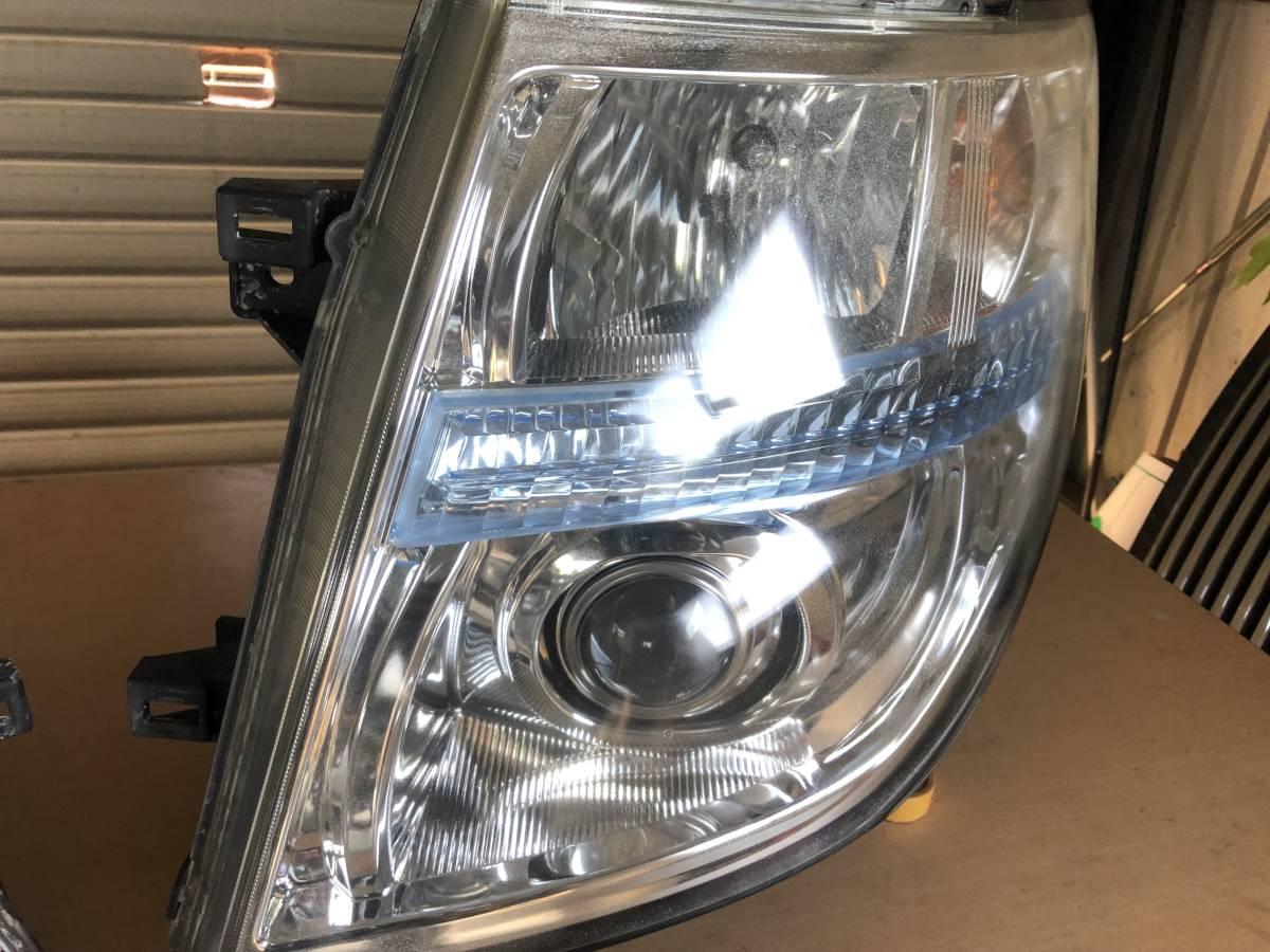 エルグランド E51 中期/後期 ヘッドライト HID/キセノン/レベライザー 左右セット バラストバーナー付 中古 売切 0817_画像2