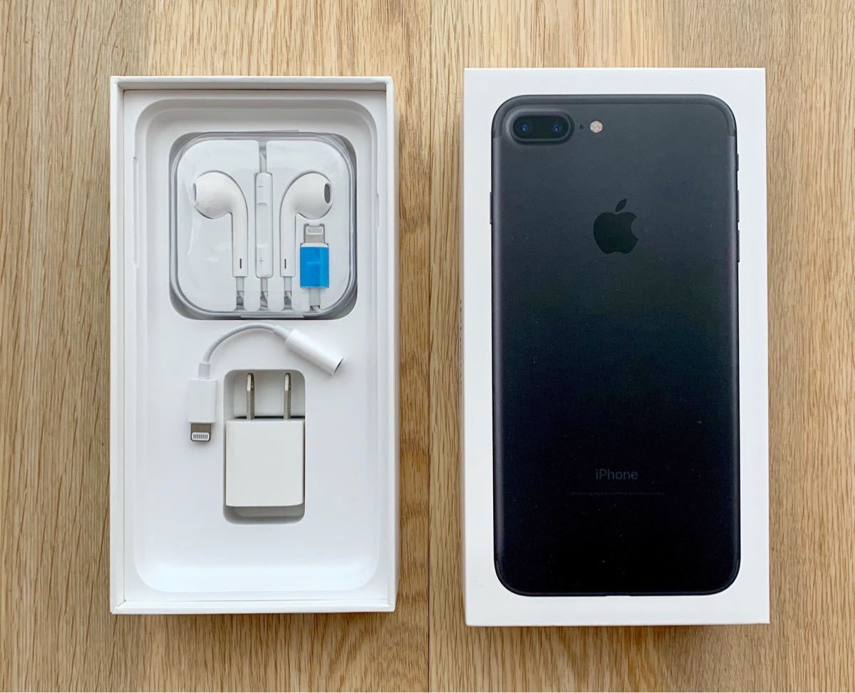 iPhone 7 plus 128GB simフリー 利用制限○ アップルストア購入_画像2