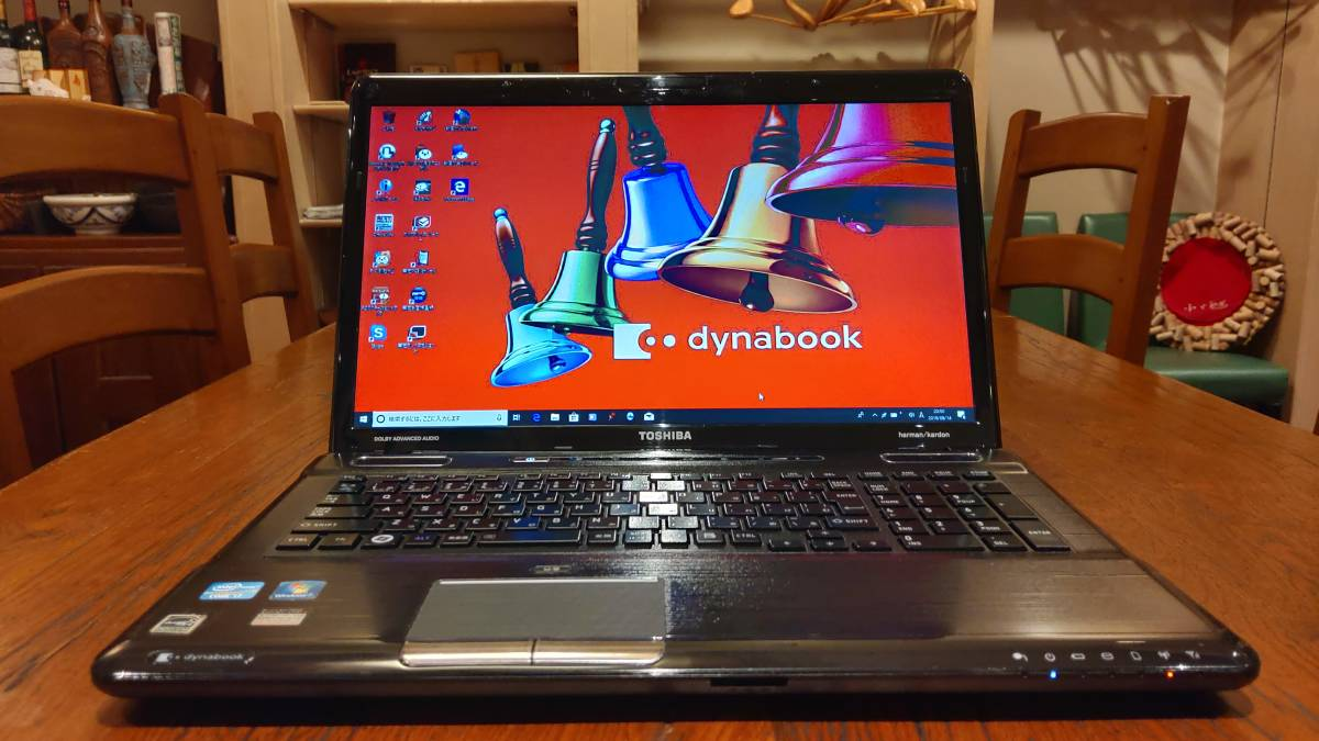 大画面 高速SSD 東芝 dynabook T571/W3TE Ccore i7 2670QM 8GB 新SSD480GB win10 office2016