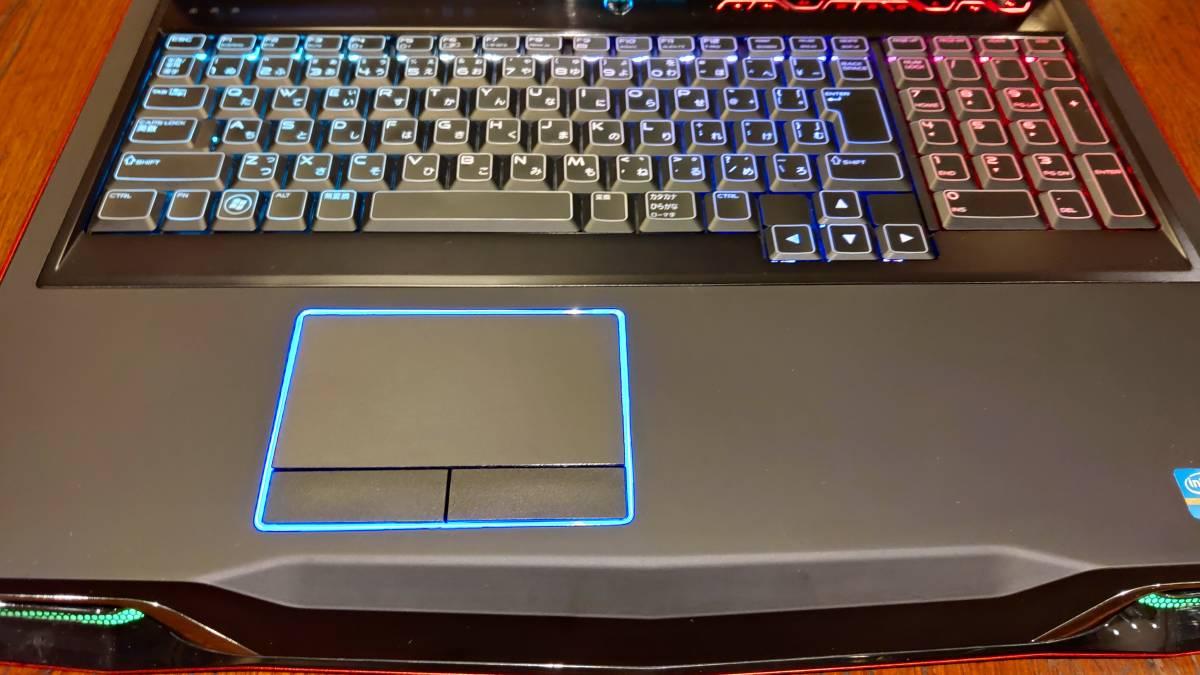ゲーミングPC DELL ALIENWARE 17x R4 大画面17.3 大容量高速SSD1TB+HDD1TB Core i7-3820QM 8G NVIDIA GTX675M フルHD office2016_画像2