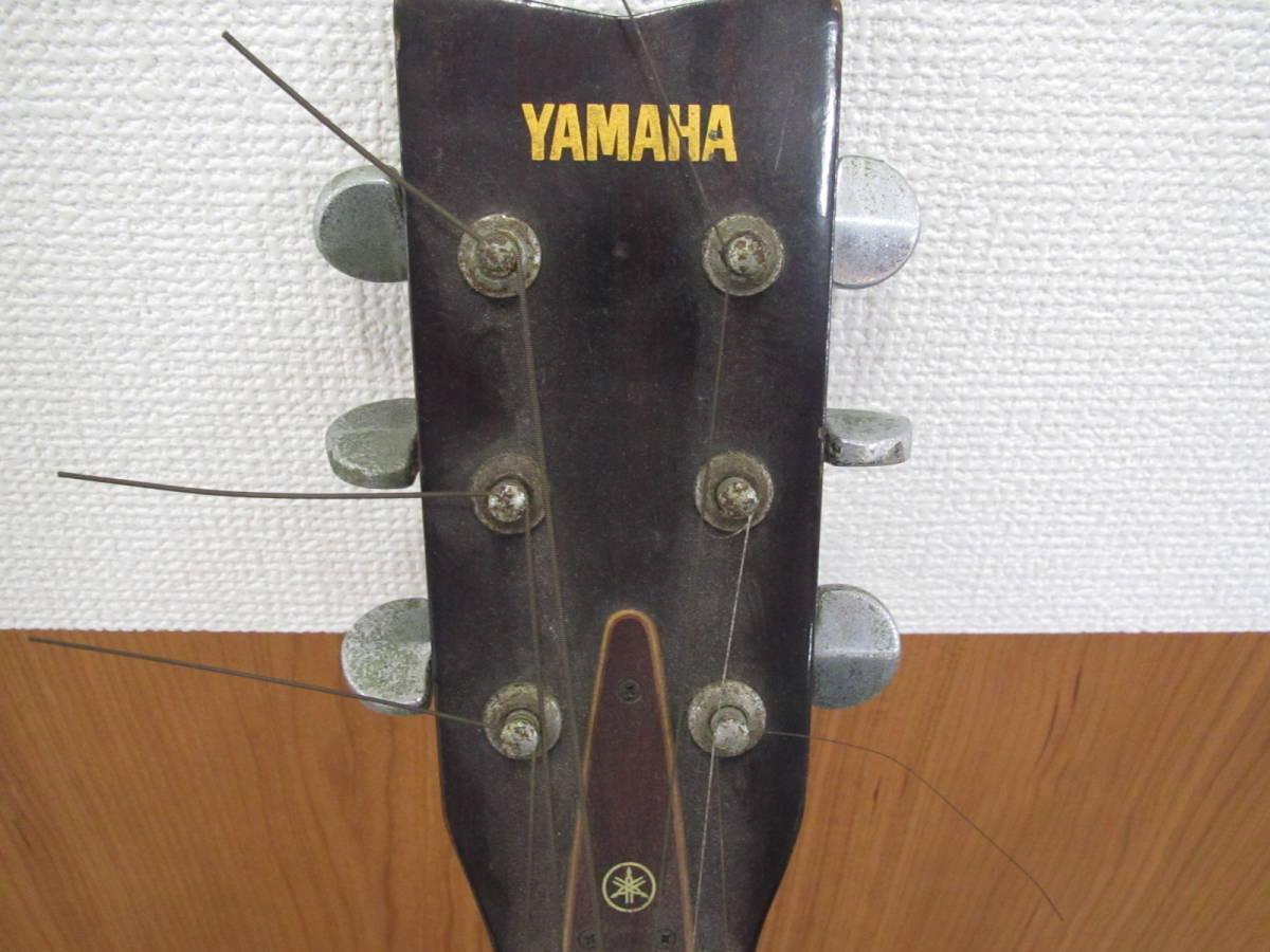 格安スタート!! YAMAHA ヤマハ アコースティックギター FG-152 本体のみ ジャンク 8-16_画像2