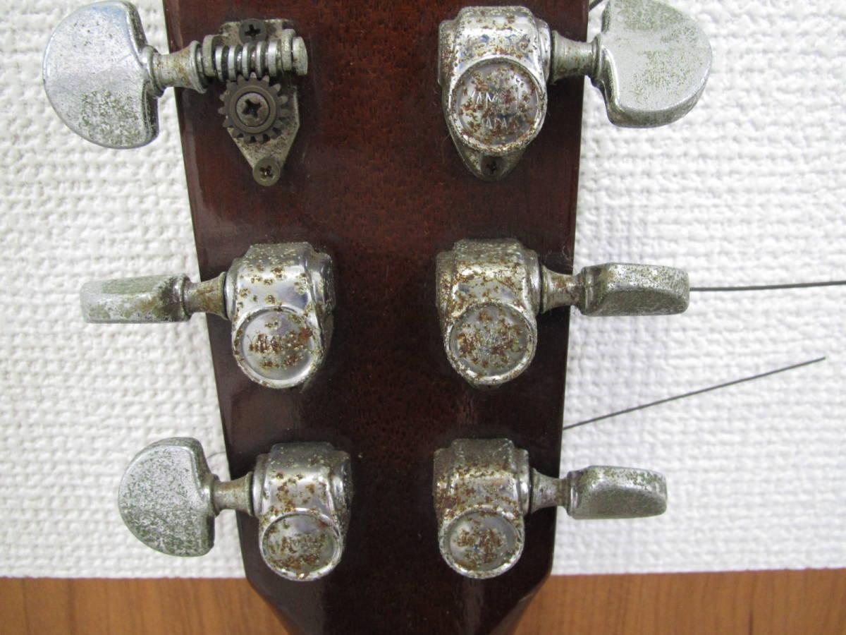 格安スタート!! YAMAHA ヤマハ アコースティックギター FG-152 本体のみ ジャンク 8-16_画像4