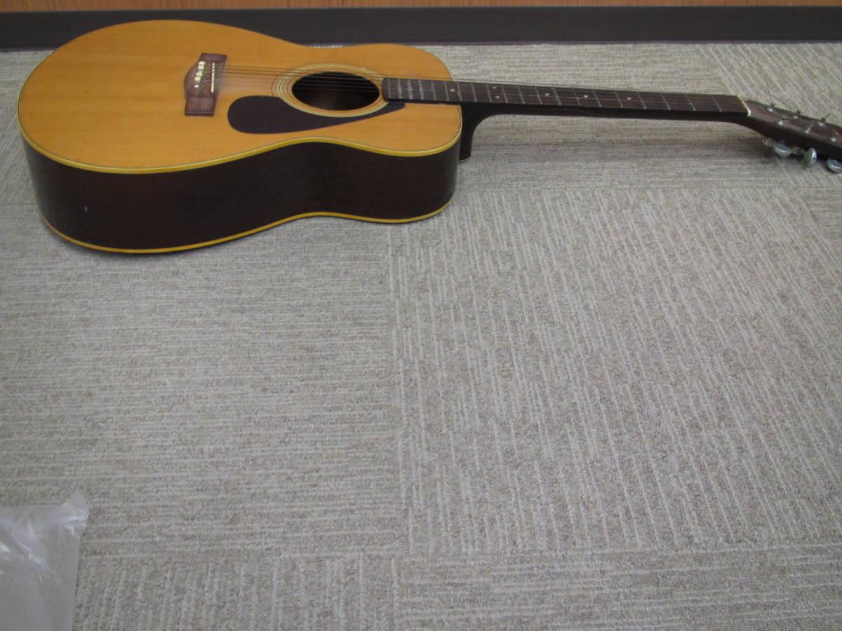 格安スタート!! YAMAHA ヤマハ アコースティックギター FG-152 本体のみ ジャンク 8-16_画像5