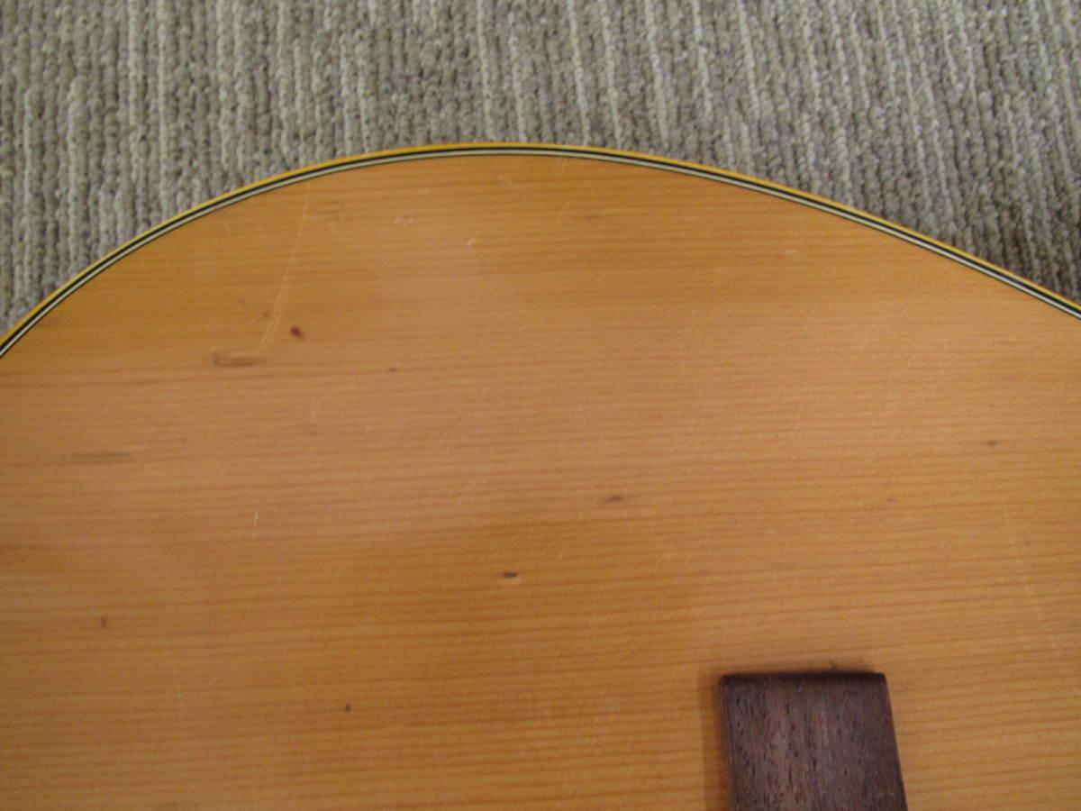 格安スタート!! YAMAHA ヤマハ アコースティックギター FG-152 本体のみ ジャンク 8-16_画像7