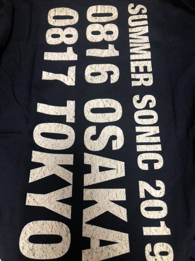 レッチリ レッドホットチリペッパーズ サマーソニック2019限定Tシャツ Sサイズ_画像2