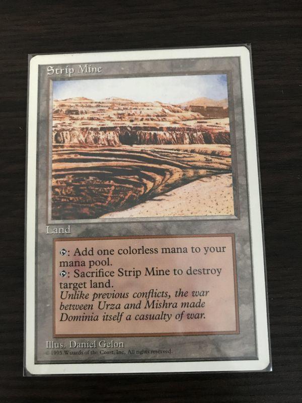 MTG 露天鉱床/Strip Mine 1