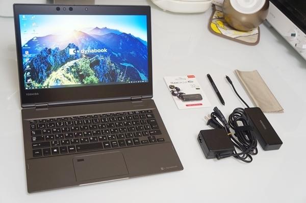 dynabook Ultrabook VZ82/DM PVZ82DM-NJA Windows10 Pro i7 16GB SSD512GB フルHD 2in1コンバーチブル Office 2016 Professional Plus 美品