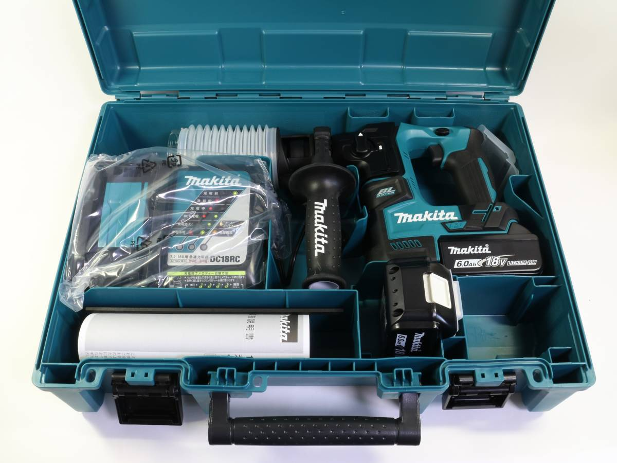 【送料無料】makita マキタ 17mm 充電式ハンマドリル HR171DRGX 6.0Ah 18V バッテリー2個 未使用品 札幌 質屋 iPawn
