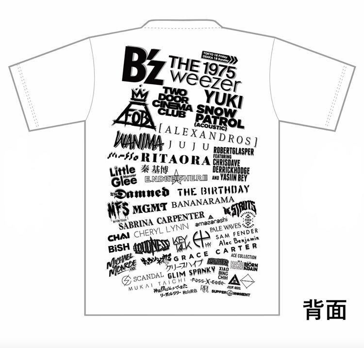 SUMMER SONIC 2019 オフィシャルTシャツ(Sサイズ)
