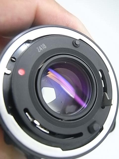 ☆ キャノン Canon AE-1Pプログラム(メンテナンス済み・モルト交換済み)+NEW FD 50mmF1.8(後玉の端に僅かなコーティングハガレ有)☆_画像3