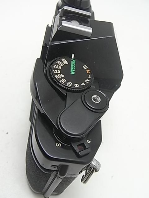 ☆ キャノン Canon AE-1Pプログラム(メンテナンス済み・モルト交換済み)+NEW FD 50mmF1.8(後玉の端に僅かなコーティングハガレ有)☆_画像6