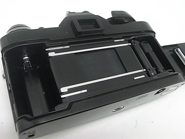 ☆ キャノン Canon AE-1Pプログラム(メンテナンス済み・モルト交換済み)+NEW FD 50mmF1.8(後玉の端に僅かなコーティングハガレ有)☆_画像7