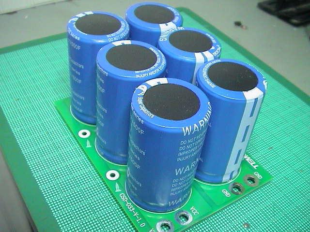 最新 充放電制御 EDLC 500F 2.7V 6個使用 燃費改善 ノイズ除去 電気二重層 コンデンサ スーパーキャパシタ ノイズ対策 音質UP ROSSAM