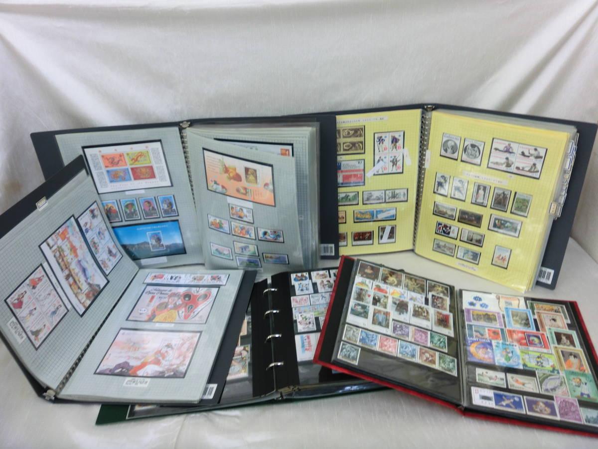 ♪1円~外国切手 色々大量 おまとめ!! ファイル5冊
