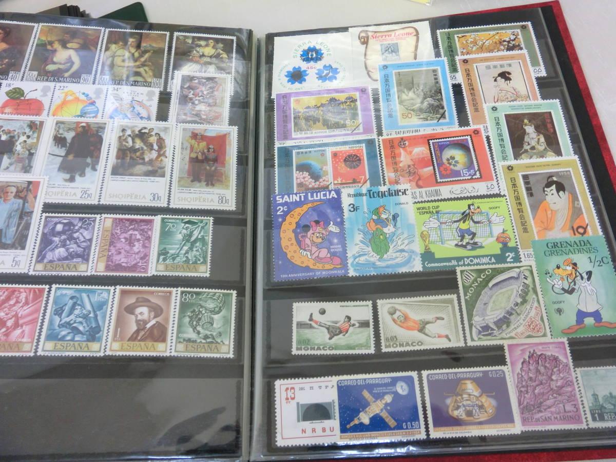 ♪1円~外国切手 色々大量 おまとめ!! ファイル5冊_画像3