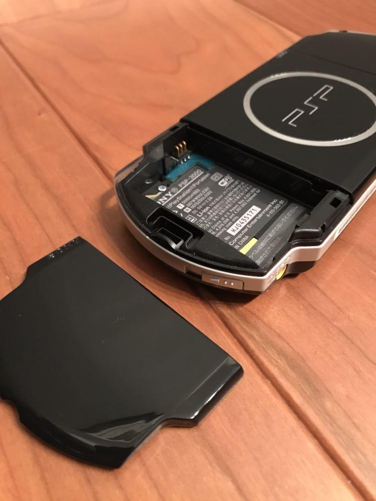 SONY PSP-3000本体 バッテリー無し ソフト1本付き_画像6