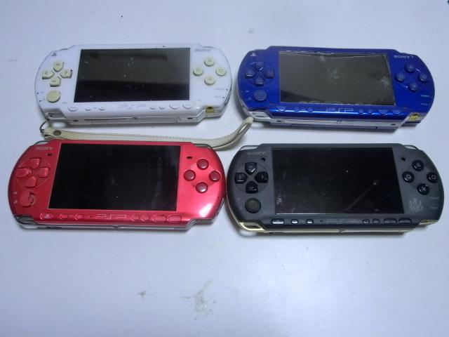 PSP 本体 PSP-3000・1000 4台セット