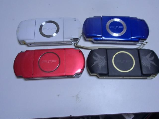 PSP 本体 PSP-3000・1000 4台セット_画像2