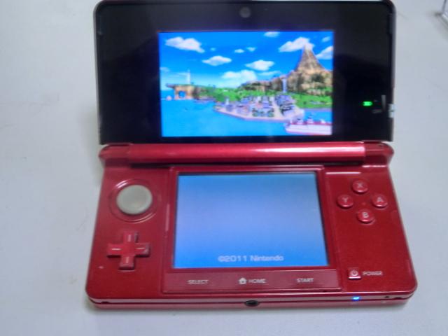 任天堂 NINTENDO 3DS 本体&充電器付 稼働品_画像2