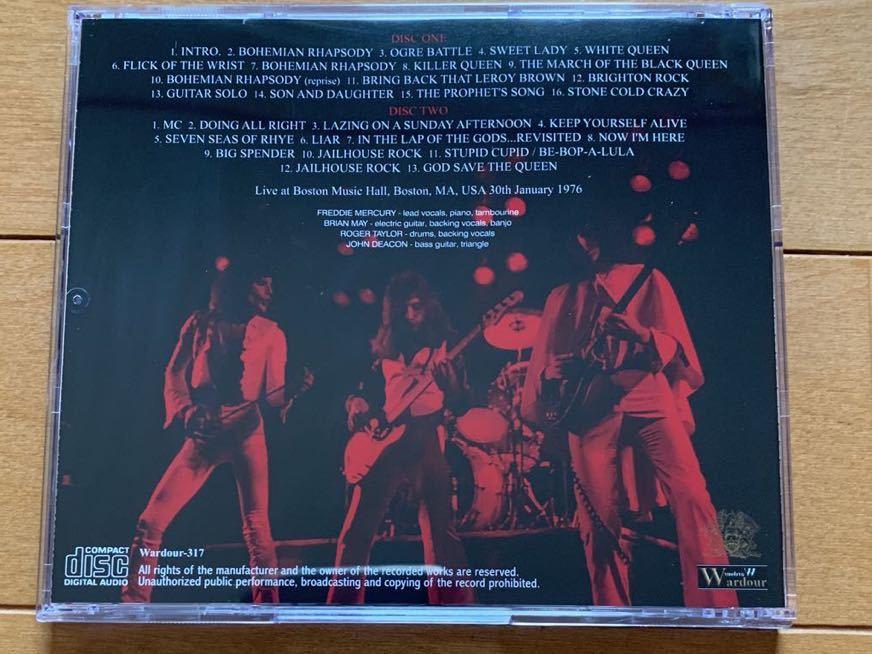Queen Definitive Boston 1976 2nd Night _画像2