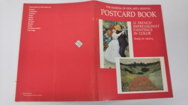 THE MUSEUM OF FINE ARTS, BOSTON POSTCARD BOOK_画像1