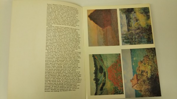THE MUSEUM OF FINE ARTS, BOSTON POSTCARD BOOK_画像2