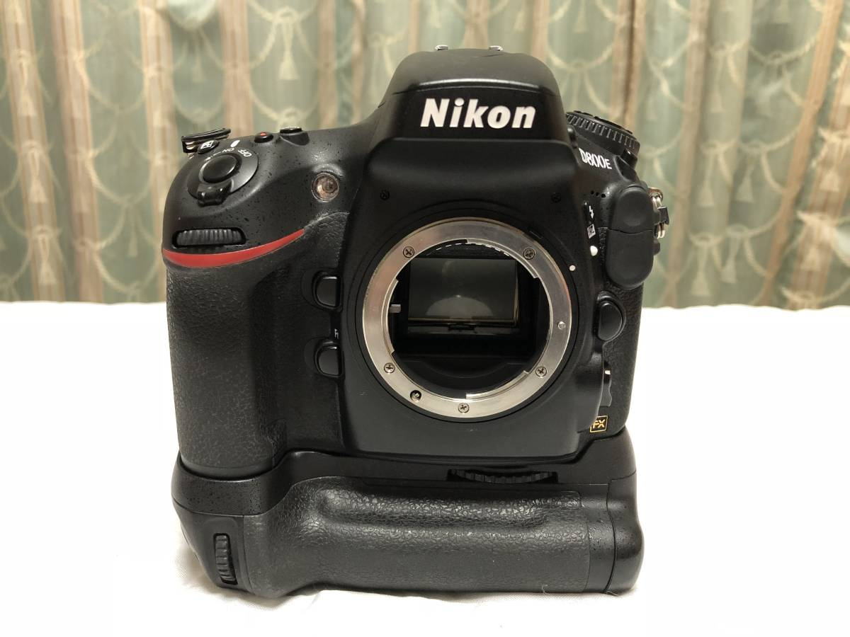 ニコン Nikon D800E+MB-D12セット