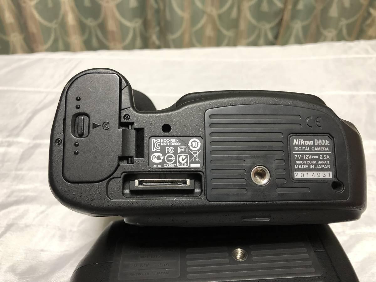 ニコン Nikon D800E+MB-D12セット _画像4
