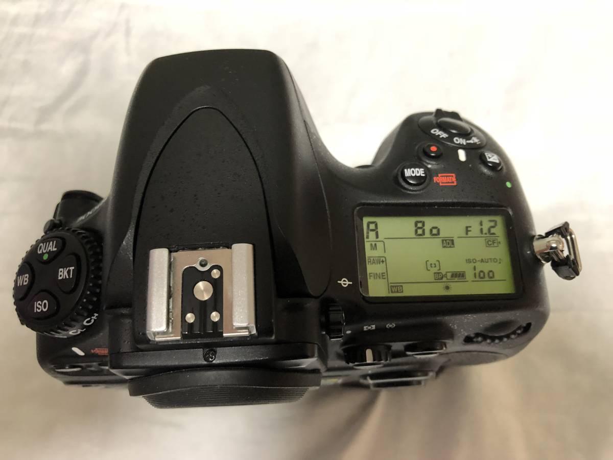 ニコン Nikon D800E+MB-D12セット _画像5