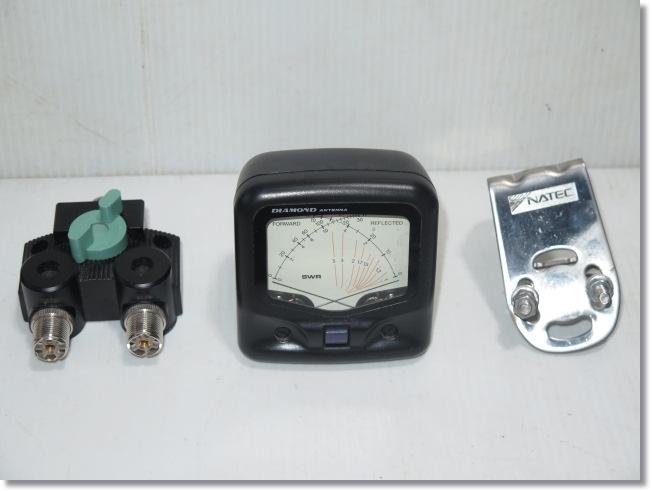 ◇◆DIAMOND ANTENA(第一電波工業) SWR【SX20C】クロスメーター/同軸切替器 CX-210など3点のセット◆◇