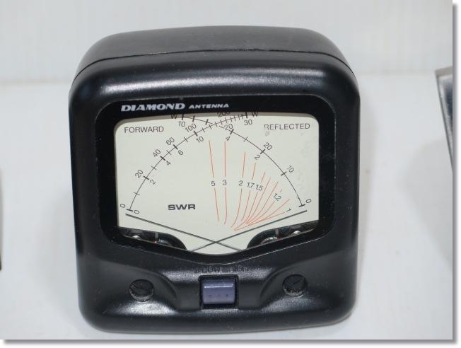 ◇◆DIAMOND ANTENA(第一電波工業) SWR【SX20C】クロスメーター/同軸切替器 CX-210など3点のセット◆◇_画像2