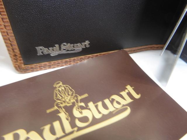 半額新品ポール、スチュアート皮2つ折財布、小銭入、名刺入れ付(西川カード_画像5
