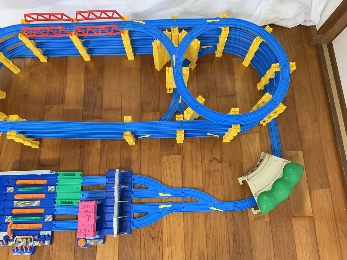 プラレール 4段レイアウト 直線レール・曲線レール・橋脚など大量 B_画像5