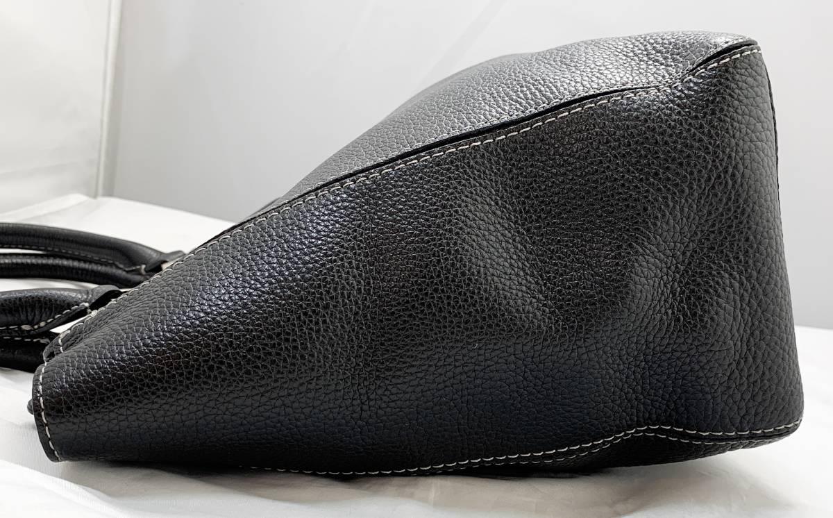 超美品 定価6万↑★ 土屋鞄 ノワイエット エイブルトート バッグ 鞄 ブラック 黒 ハンドバッグ ショルダーバッグ フォーマルにも◎ _画像8