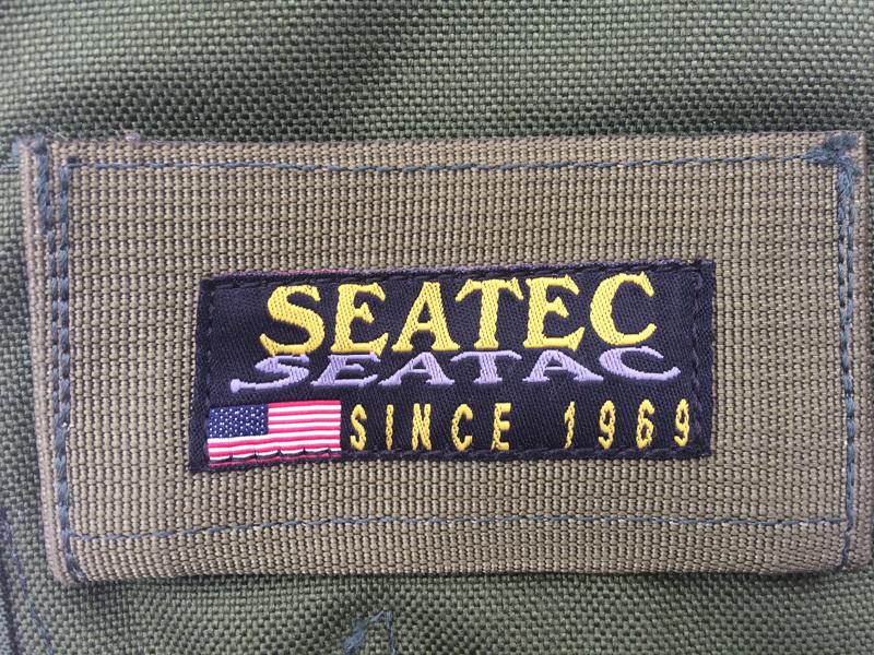 実物 米軍放出品 SEATEC SEATAC スペシャルオペレーション レッグホルスター OD    (seals devgru swcc m9 p226 g17 9f11_画像3