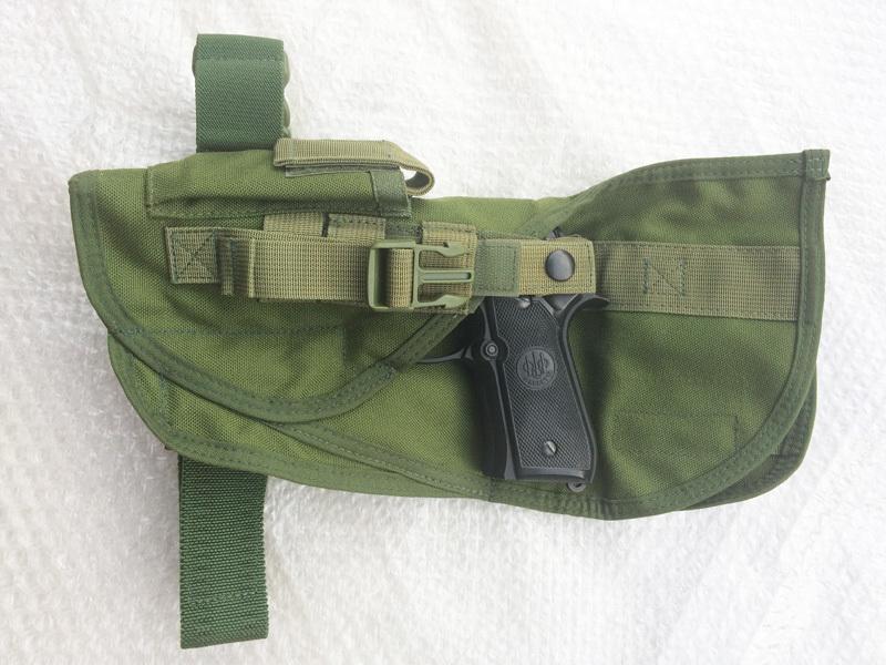 実物 米軍放出品 SEATEC SEATAC スペシャルオペレーション レッグホルスター OD    (seals devgru swcc m9 p226 g17 9f11_画像5