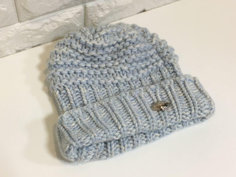 正規品極上美品 ヴィトン カシミア100% ニット帽 M70450 JH0136 売り切り 本物_画像2