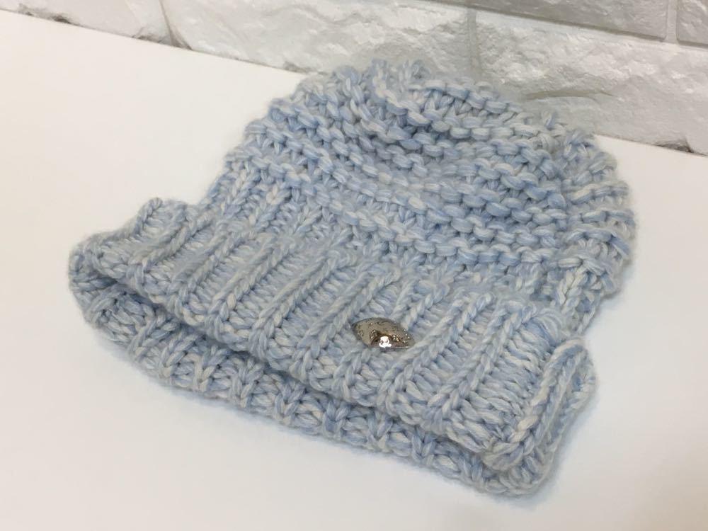 正規品極上美品 ヴィトン カシミア100% ニット帽 M70450 JH0136 売り切り 本物_画像4