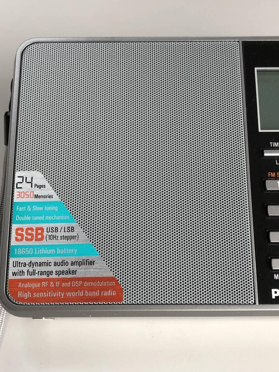 ♪ TECSUN PL-880 FMステレオ/LW/MW/SW SSB PLLワールドバンドレシーバー 超美品 日本語説明書 ♪_画像6